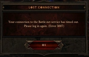 Diablo III - Lost Connection